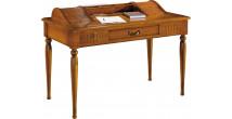 13086 - Table d'écriture 1 tiroir 2 rideaux