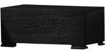 2625 - Chevet design 1 tiroir chêne noir