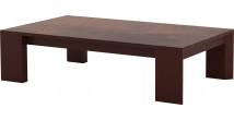 Table basse laqué bordeaux plateau céramique