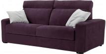 Canapé Rapido 3 places microfibre Ronsard violet