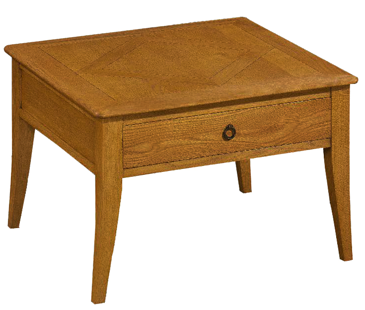 Table basse chêne carrée L75