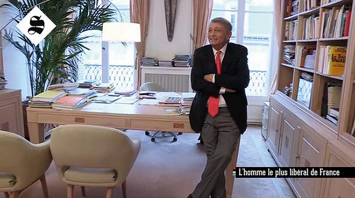 Bureau Alain Madelin équipé par Destock Meubles